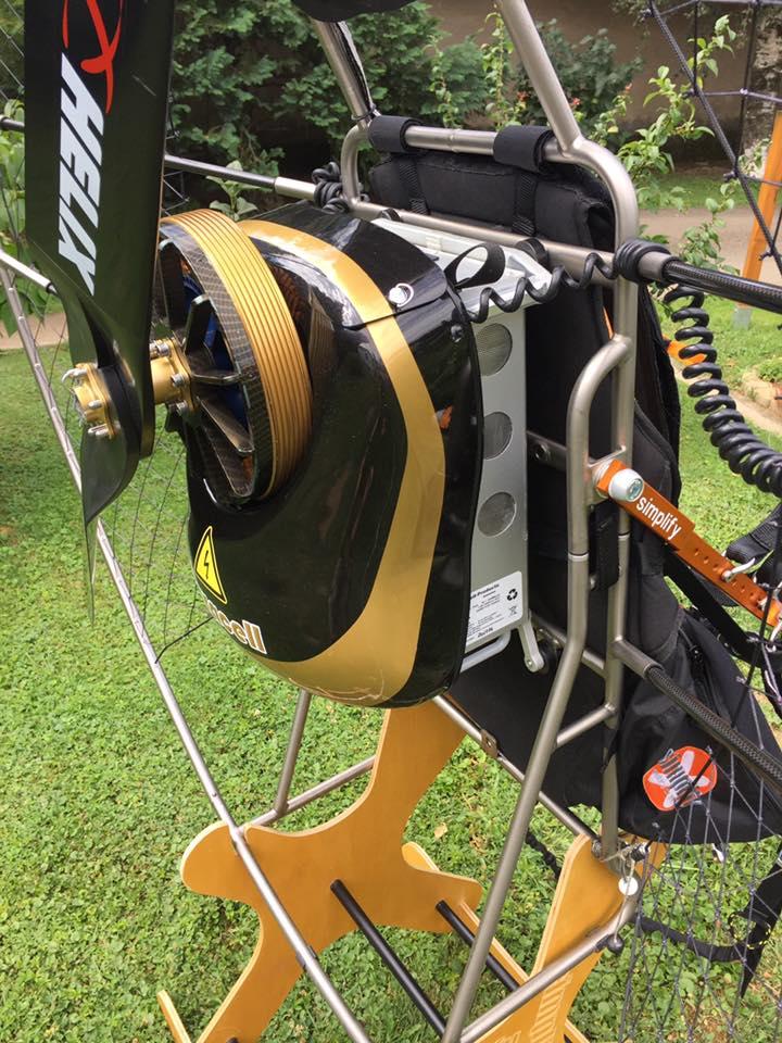 Elektro Paramotoren