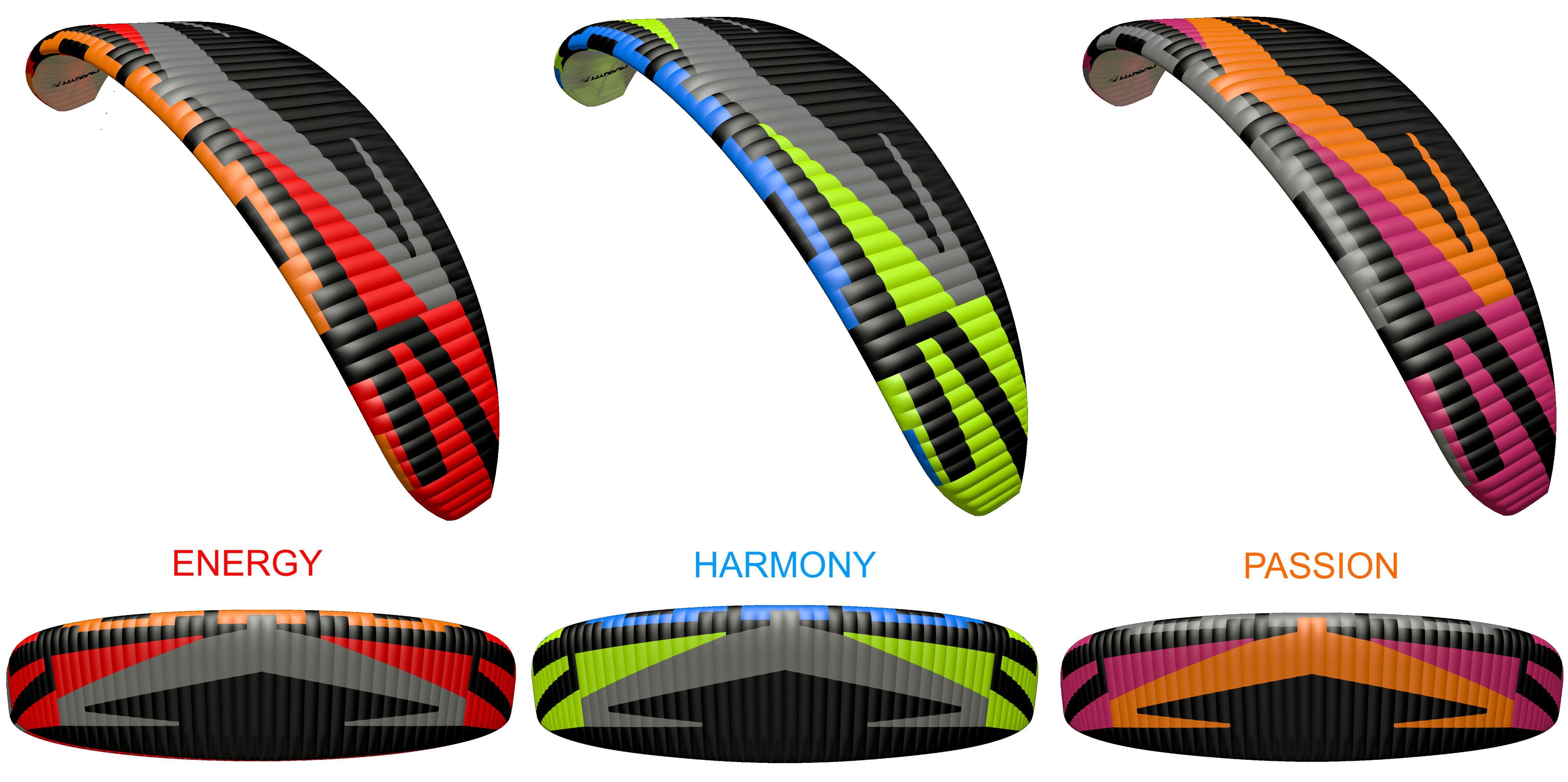 Dudek Hadron 3 Farben