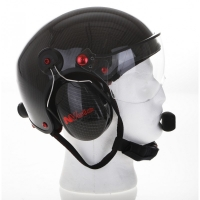 Paramotor Helm von NVolo in Carbon