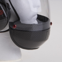 Paramotor Helm von NVolo in Carbon / Kevlar