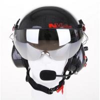 Paramotor Helm von NVolo in Carbon mit Tarnfarbe