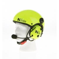 Paramotor Helm von NVolo mit Signalfarbe