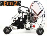 Doppelsitzertrike ECO 2 Light ohne Motor