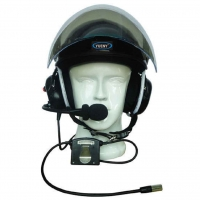Paramotor Helm 4000 mit Headset, Funk und ANR (active noise reduction)