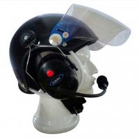 Carbon Paramotor Helm 4000 mit Headset und Funk und Anschluss für Bluetoothmodul